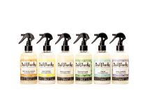 All 8oz Dollylocks Organic Tightening Spray for Dreadlocks including Nag Champa scent and Coconut Lime scent
