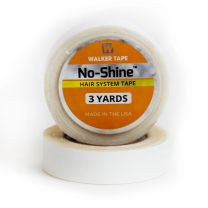3 yard roll of No-Shine double sided tape for tape hair extensions on white background